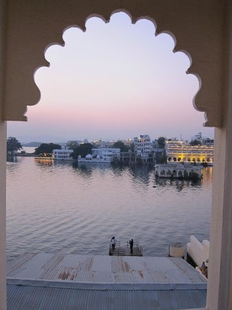 Raj Niwas Hotel: View from our private balcony
