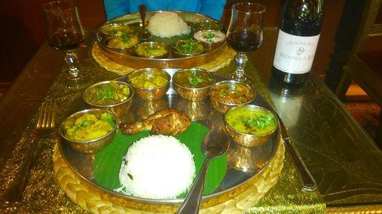 Maharaja Palace: les plats principaux