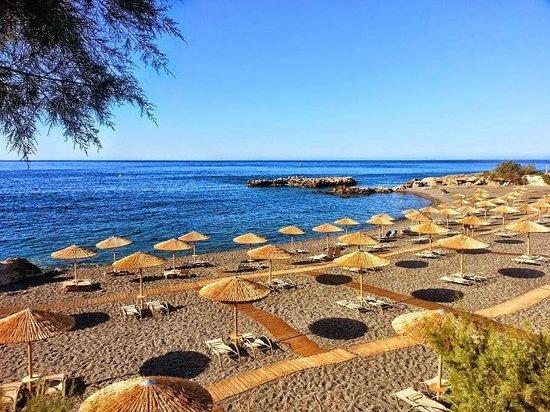 Kakkos Bay Hotel : widok na plażę