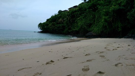 Sri Panwa Phuket : the private beach