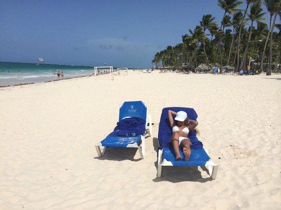 Bavaro Princess All Suites Resort, Spa & Casino : Beach