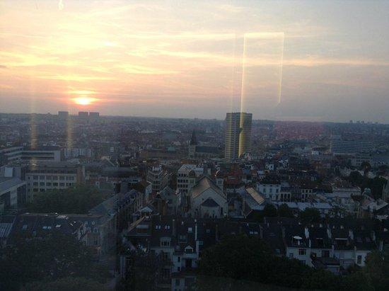 The Hotel - Brussels: vue du 15ème étage
