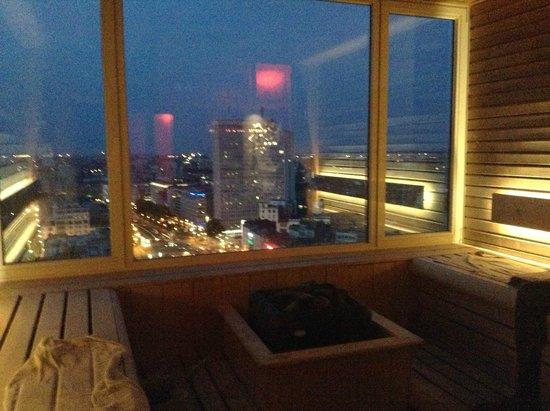 The Hotel - Brussels : sauna de nuit