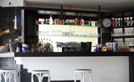 Bar Ristorante Principe: Il retro bancone
