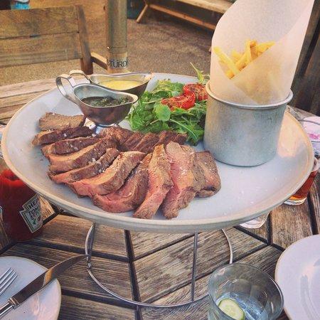 The Wheatsheaf Inn: Dinner steak for two!