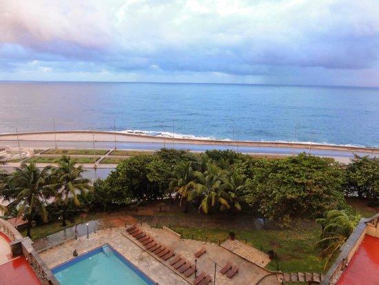 Hotel Nacional de Cuba: View from our room