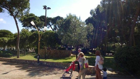 Juan-les-Pins, Frankrike: Bimbi e famiglie!