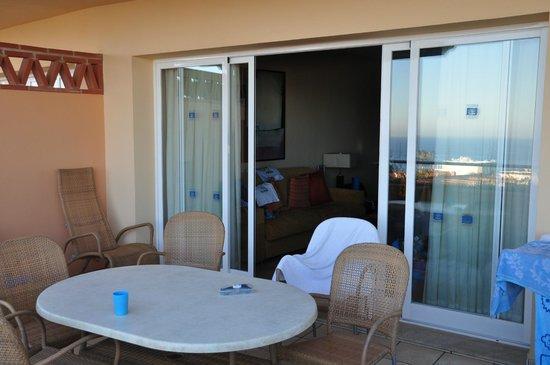 CLC Club La Costa World: С террасы в гостиную