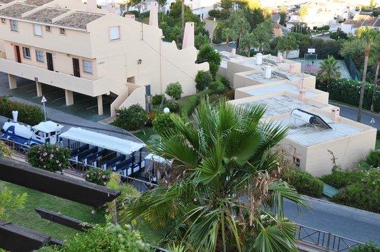 CLC Club La Costa World: Вид с балкона