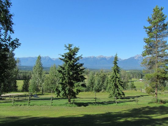 Goldenwood Lodge: Die Zimmeraussicht ist atemberaubend