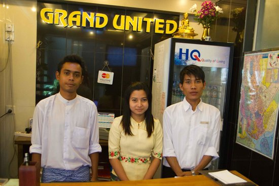 Hotel Grand United (Chinatown) : Friendly staff