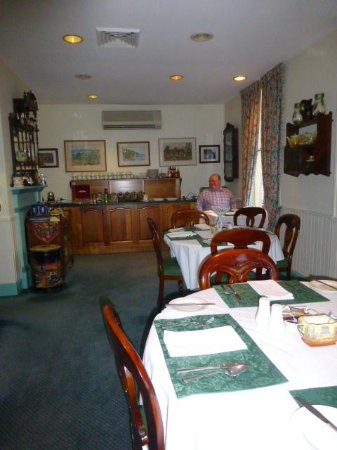 The Old Bakery Inn : Breakfast room