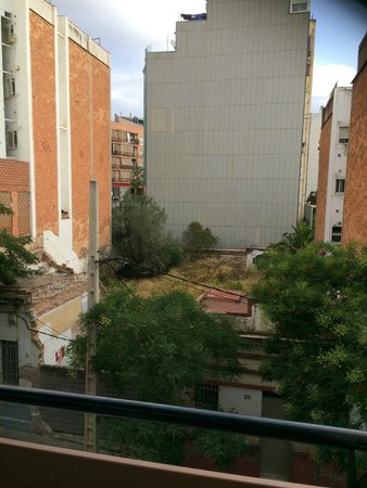 Castro Exclusive Residences Sant Pau: Room with a view?!!