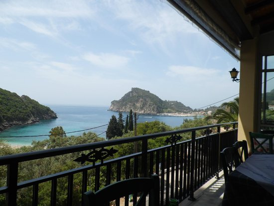 The  Greek Way: A view over Paleokastritsa