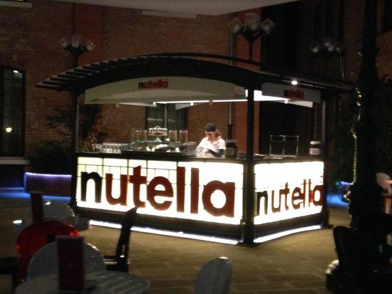 Hilton Molino Stucky Venice Hotel: Nutella Bar!