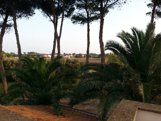 Porto Kaleo Villaggio: paesaggio dal balcone