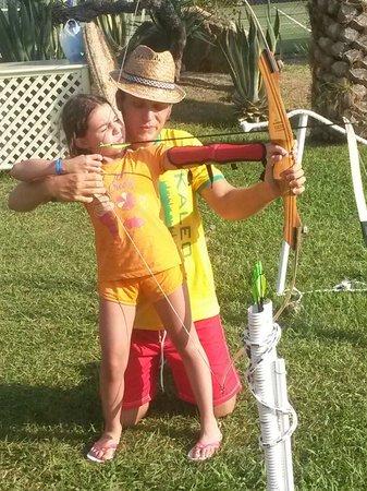 Porto Kaleo Villaggio: tiro con l'arco