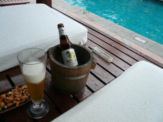 The Peninsula Bangkok : ビール