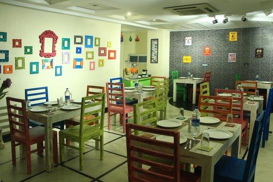 Hotel Sita International: Rooftop Cafe'