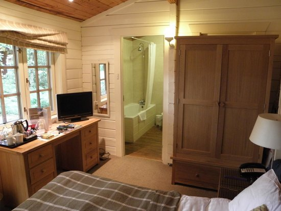 Chevin Country Park Hotel & Spa: cabin 55