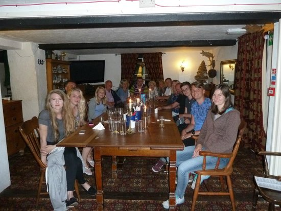 The Blueball Inn: Family Booking