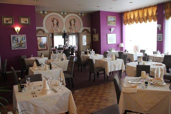 Hotel de l'Ange: La salle à manger