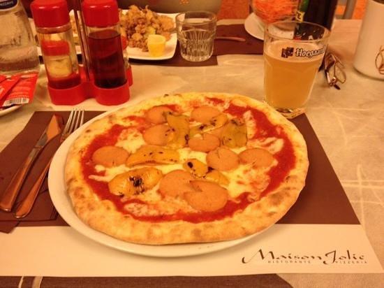 Ristorante Maison Jolie: pizza viennese con peperoni