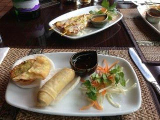 Thai Pinto restaurant: starters