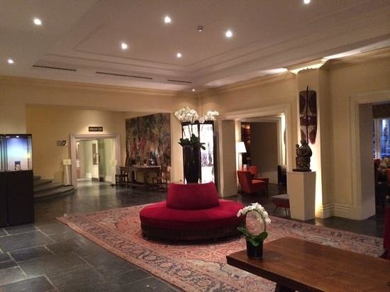 Hotel Amigo: reception