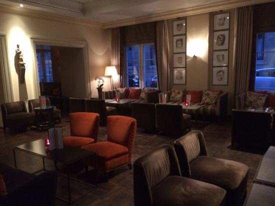 Hotel Amigo: lounge