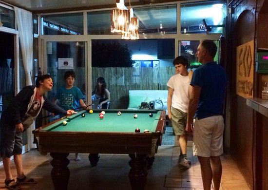 Boys Pool Night at Chico's