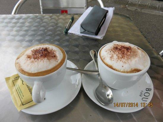 La Ciudadela : Cappuccinos!!
