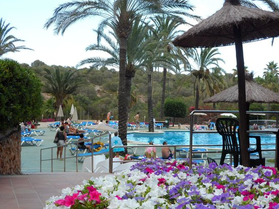 Cala Marsal: La grande piscine