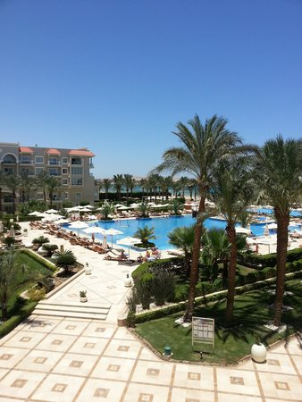 Premier Le Reve Hotel & Spa (Adults Only): view from our room.