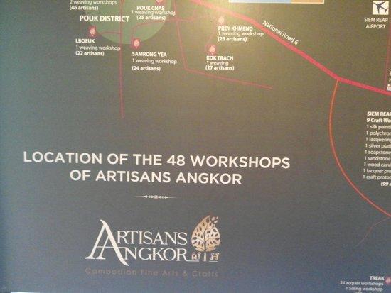 Artisans Angkor : board