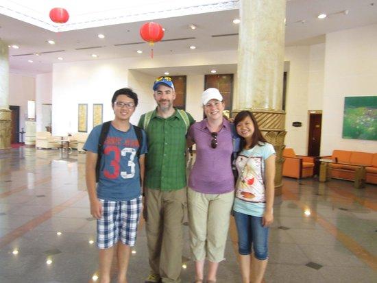 HanoiKids Tour: Wonderful students