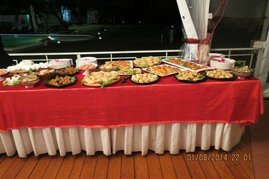 Oro Bianco: buffet