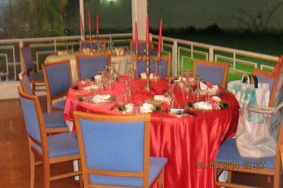 Oro Bianco: tavolo d'onore