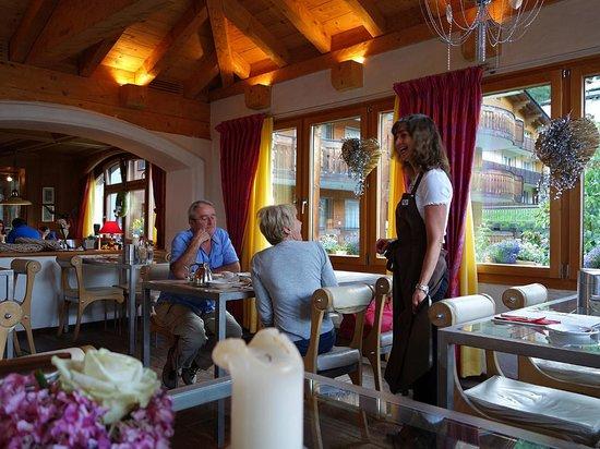 Romantik Hotel Julen: Im Restaurant