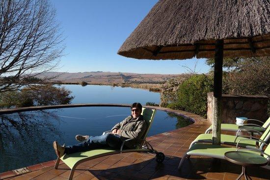 Walkersons Hotel & Spa: Piscina all'aperto...peccato fosse inverno