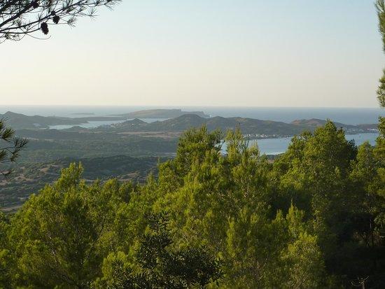 Hotel Club Sur Menorca: point de vue découvert avec excursion 4x4