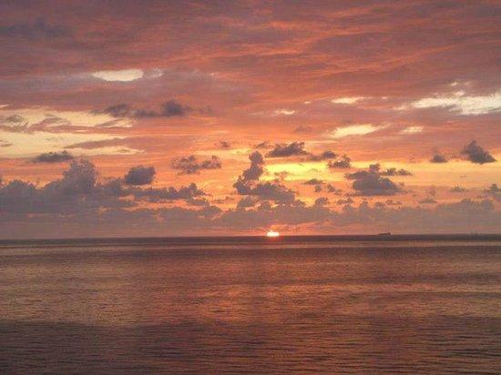 Sole on the Ocean: Sunrise