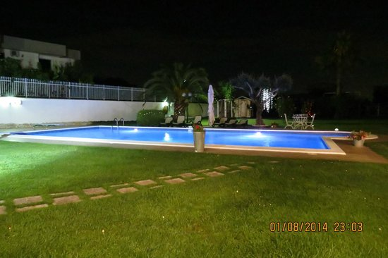 Oro Bianco: piscina