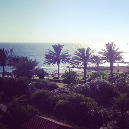 Louis Ledra Beach: Our view in the limited sea view room