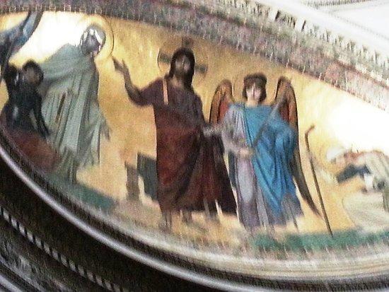 Panthéon: Fresque