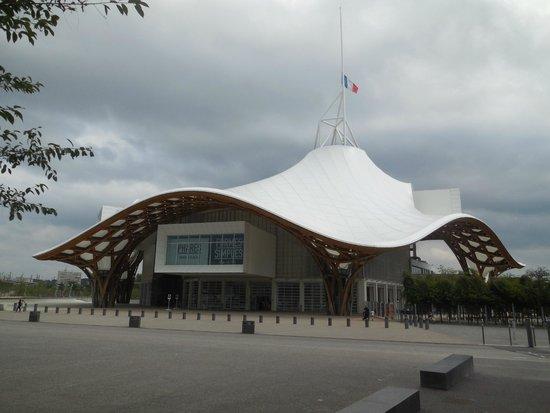 Centre Pompidou-Metz : Vue extérieure