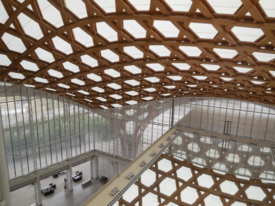 Centre Pompidou-Metz : Vue intérieure