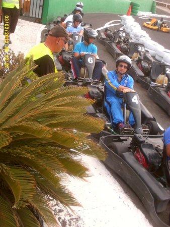 Go Karting San Bartolome : We take it a bit seriously!!