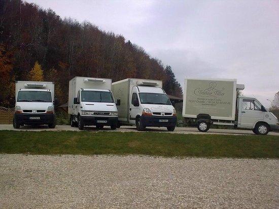 Traiteur Tillier: Logistique