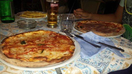 La Kambusa di Leonelli: Pizza margherita... MA DOVE???